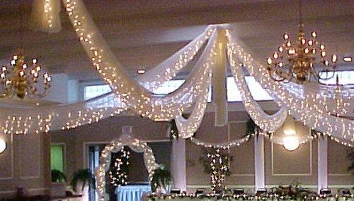 Tulle Lights Wedding Decor Unique Wedding Ideas