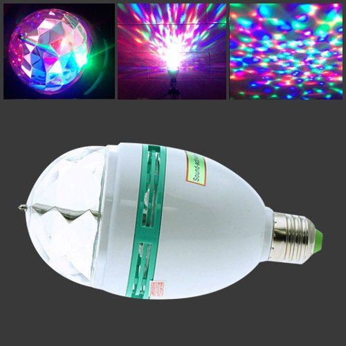 led full color rotating lamp instructions