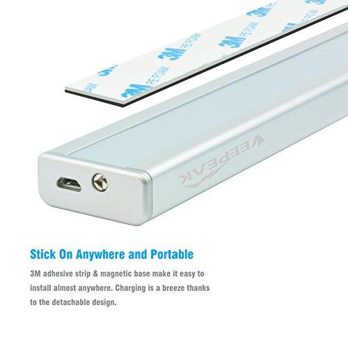 Kitchen Closet Under Cabinet Stick On 36 Led Motion Sensor: Veepeak Rechargeable LED Motion Sensor Light Closet Light