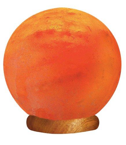 Wbm himalayan glow hand carved globe natural crystal for Wbm 7 tall himalayan natural crystal salt lamp
