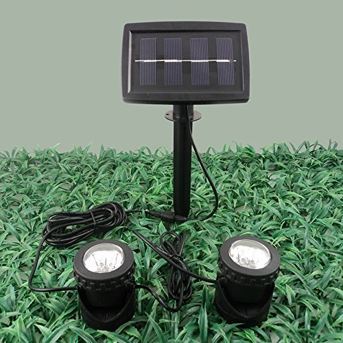 Outdoor Solar Lights In Ground: WONFAST® 180°angle Adjustable Waterproof 4 LED Solar