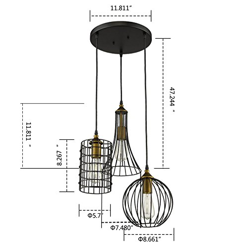 3 pendant kitchen lights